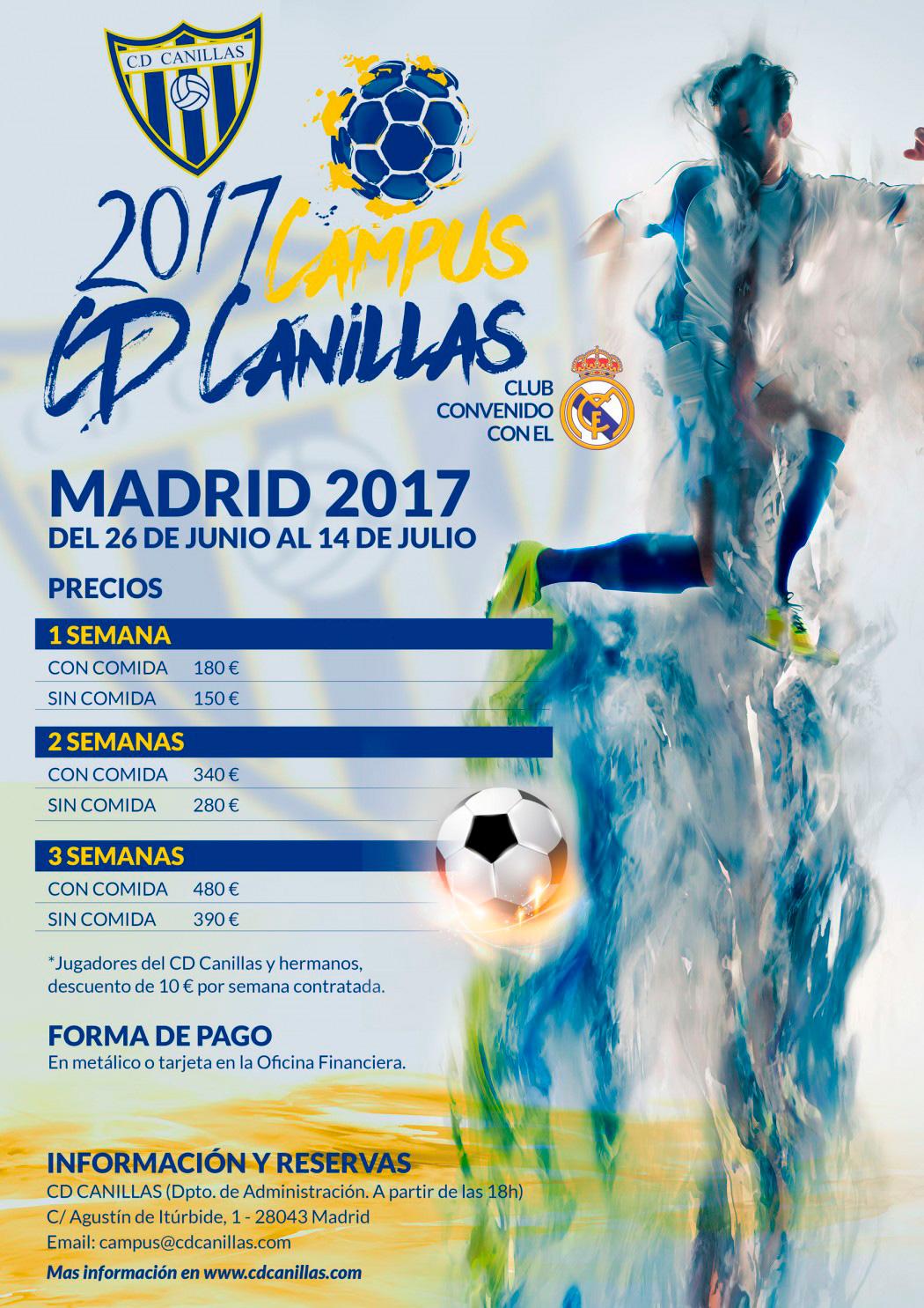 Campus de Fútbol Madrid 2017