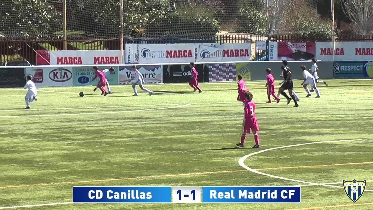 El infantil juega contra el Real Madrid en Valdebebas este jueves