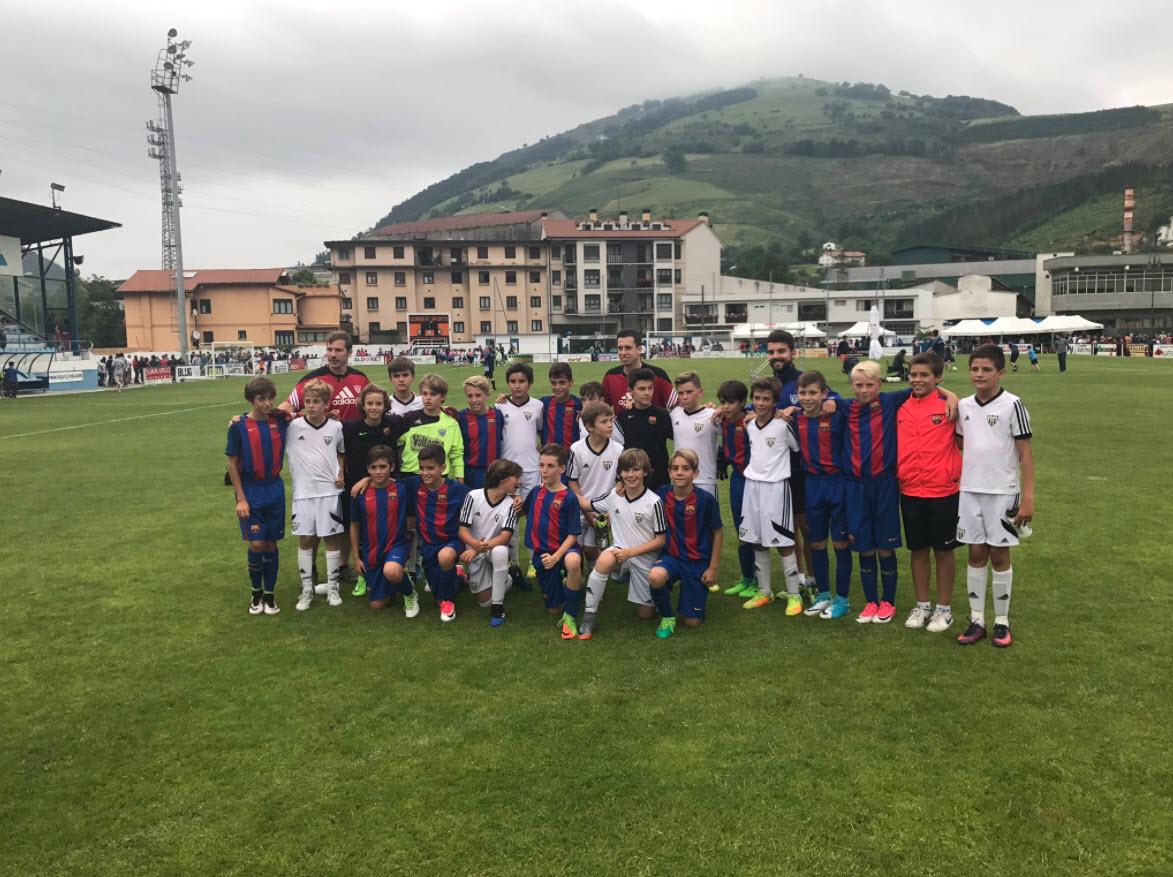El Alevín B participó en el Azpeitia Cup