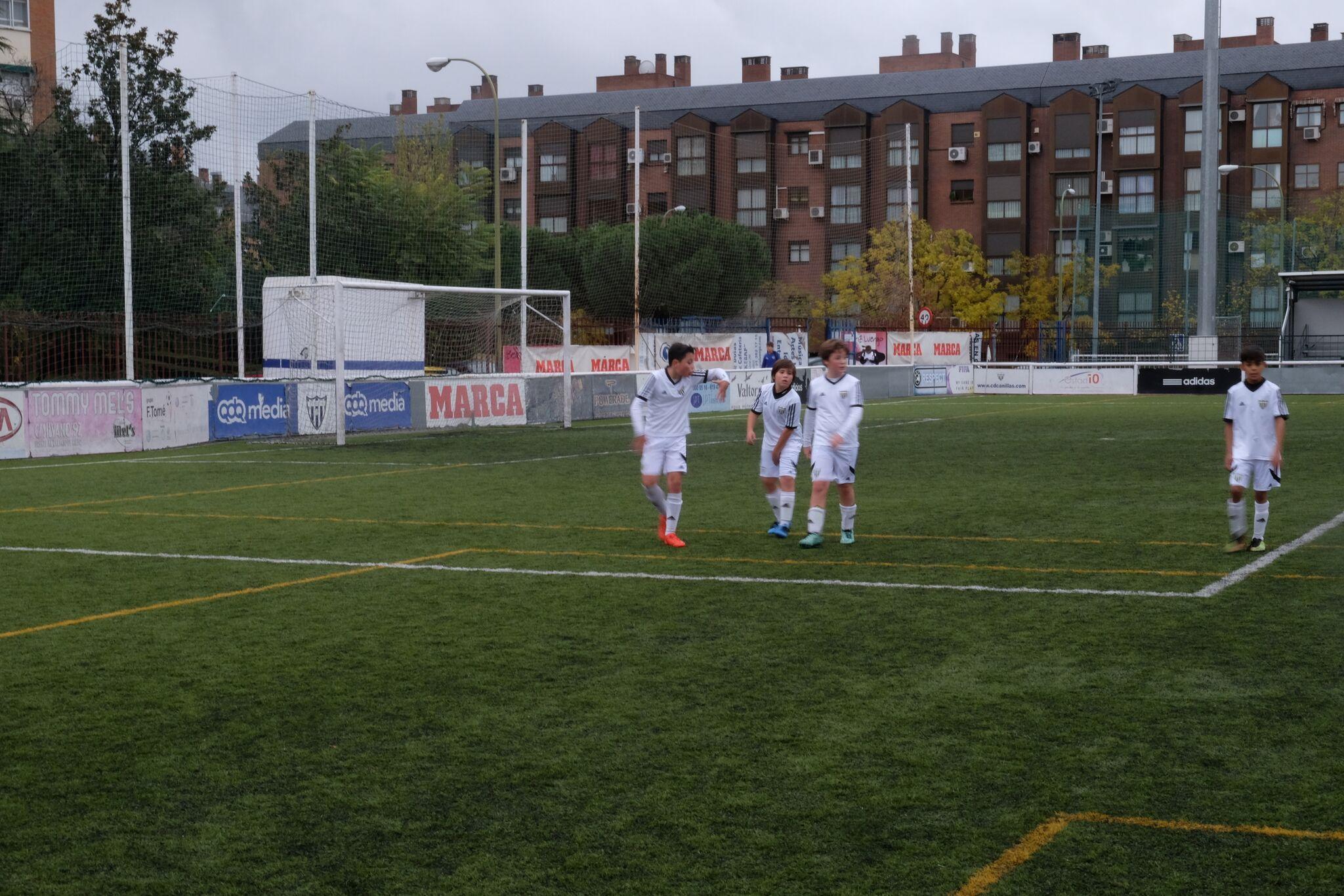 El Alevín C, primero de grupo en el Torneo Parque Sureste
