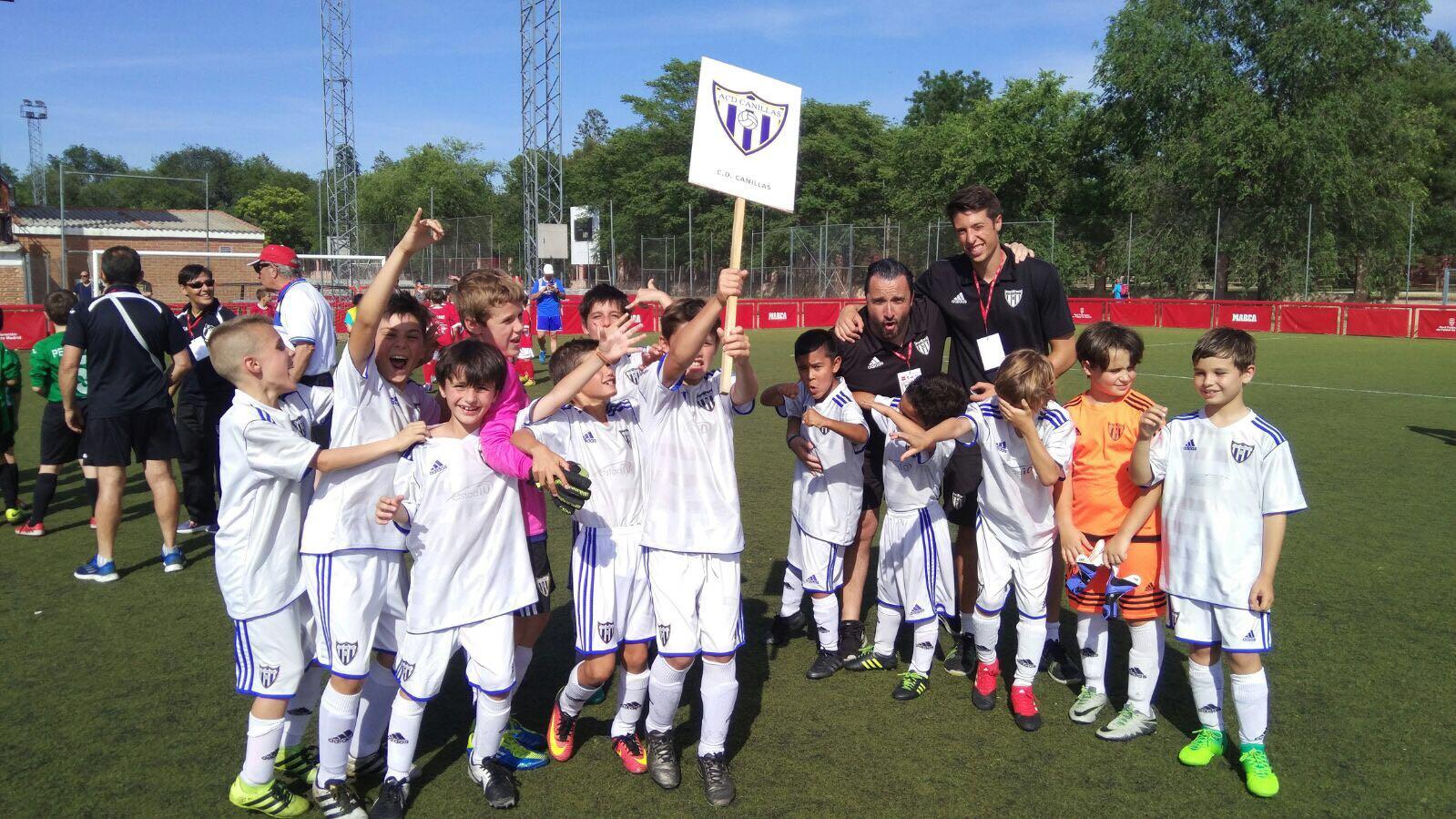 El Benjamín B participó en el Torneo Campeones RFFM