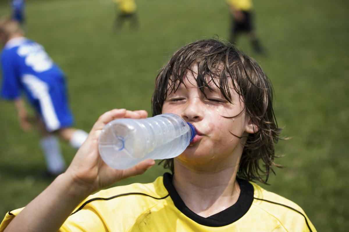 Sube el termómetro…no te olvides de beber agua