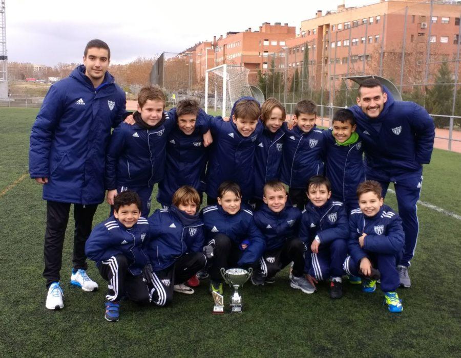 Benjamín A, Campeones del Torneo Academia Fútbol Alcobendas