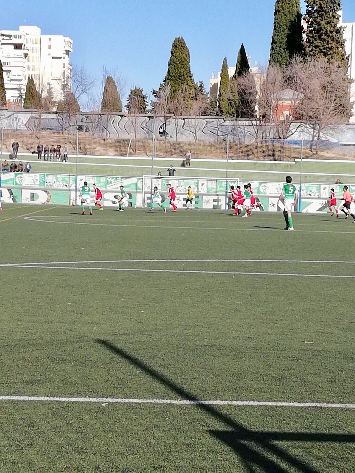 Canillas-Esperanza, el fútbol se juega en el barrio