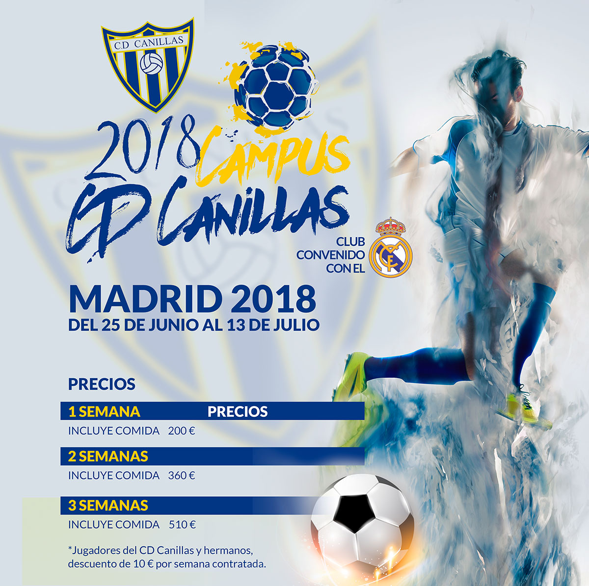 Campus de Fútbol Madrid 2018