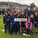 Gran experiencia del Alevín B en el Torneo Azpeitia Cup