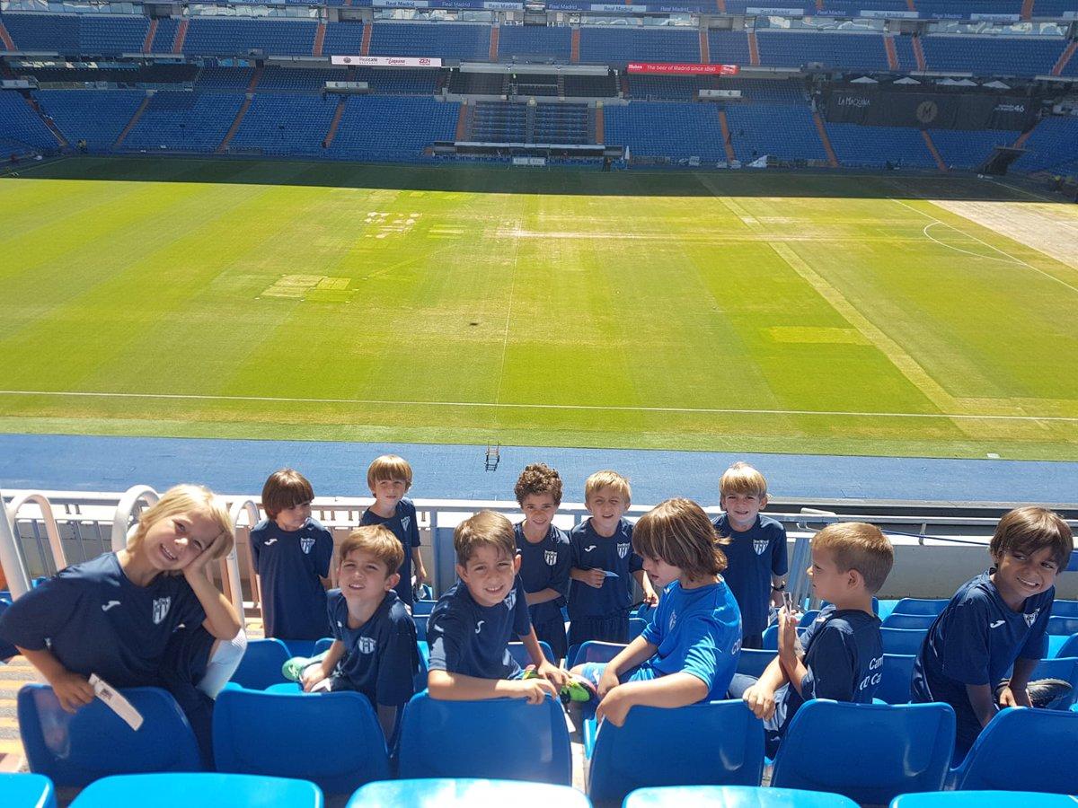 El Canillas visita el Santiago Bernabéu