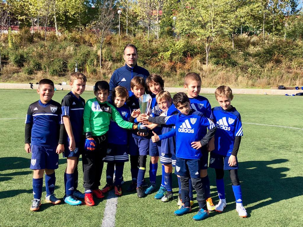 El Benjamin E gana la Copa Academia IFF