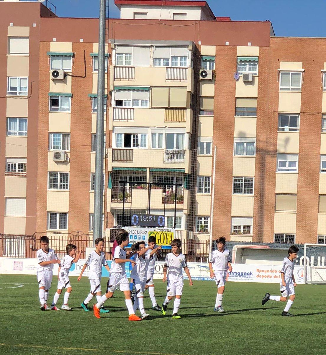 El Alevín A se lleva los tres puntos contra el Sporting