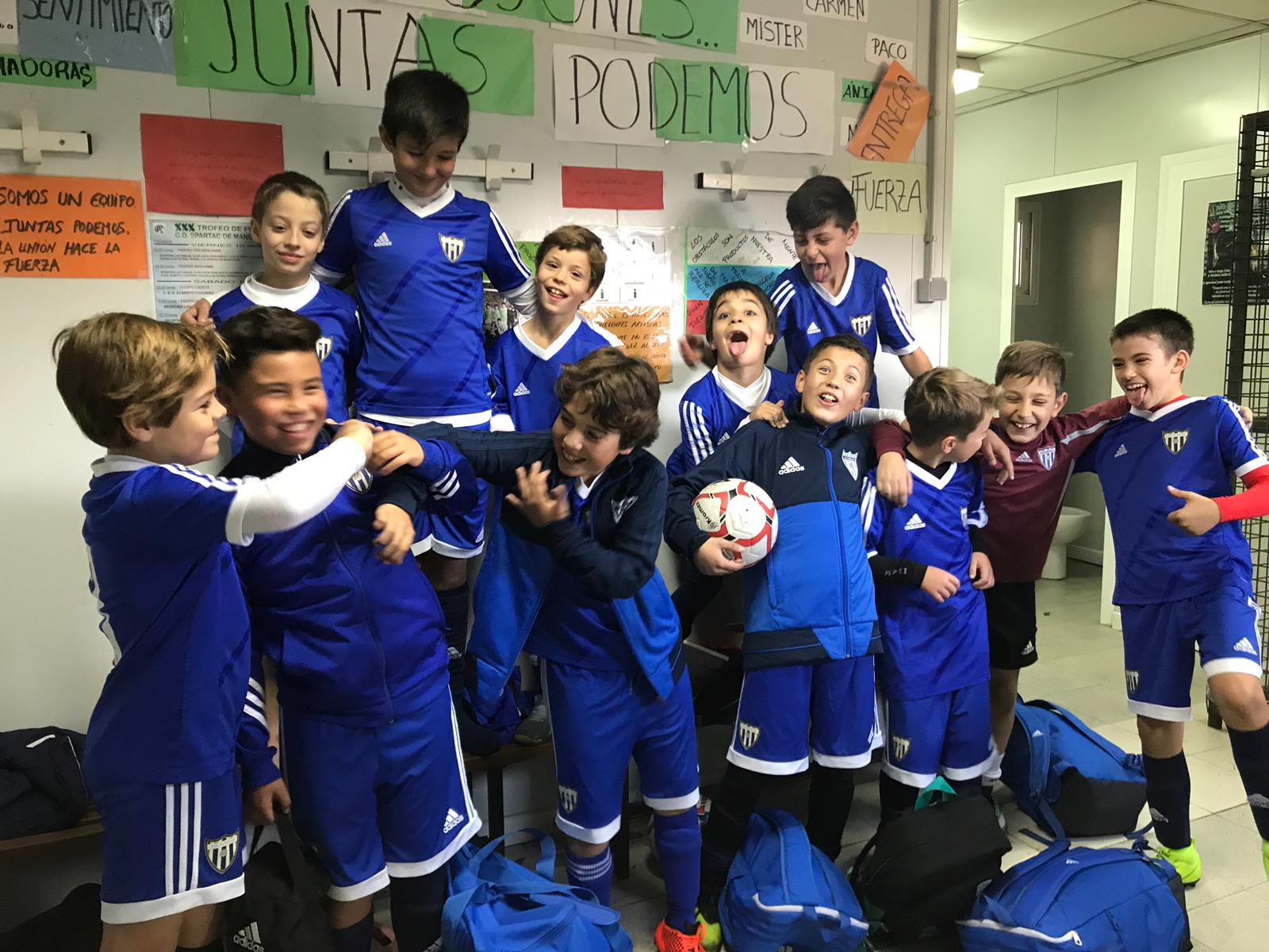 Fútbol en el CANI, un deporte que se siente y se disfruta