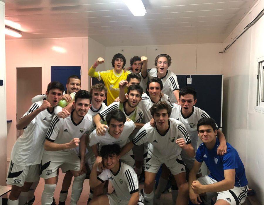 Segunda victoria consecutiva del Juvenil D